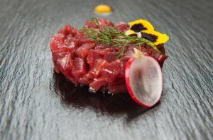tartare di tonno rosso, ristoranti di Roma, antipasto, antipasto di mare, pesce, tonno, ristoranti a Roma, mangiare a Roma, ristorante di Roma, ristorante a Roma, cucina marinara, ristorante di pesce