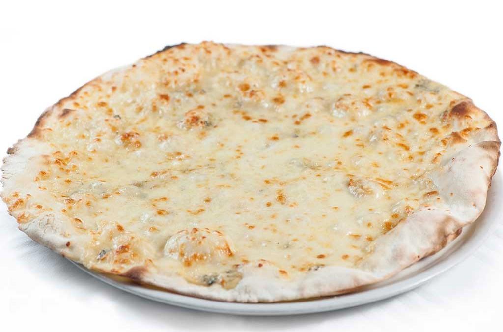 pizza ai quattro formaggi, pizza, ristoranti a roma, ristoranti di roma, mangiare a roma, pizzeria, roma