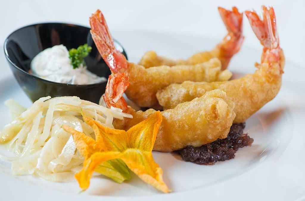 tempura di gamberi, ristoranti di roma, ristoranti a roma, ristorante di roma, ristorante a roma, mangiare a roma, tempura, antipasto, gamberi