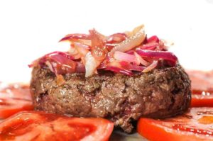Hamburger con haché di Bue