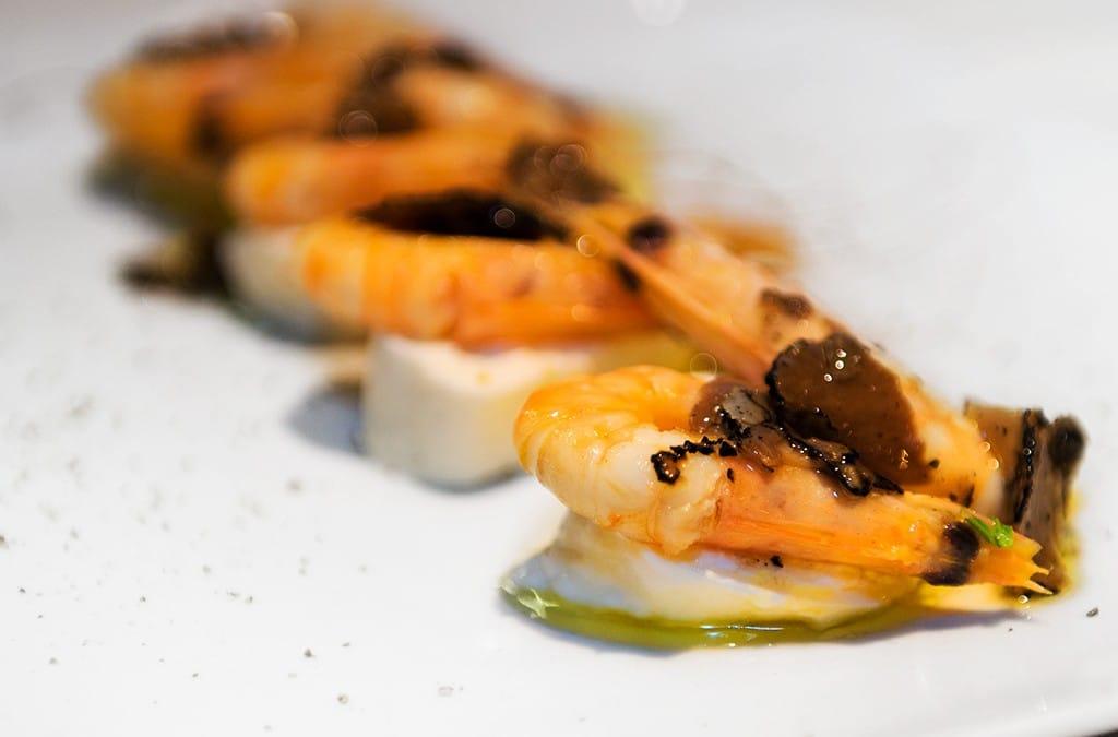 crostacei e tartufo, antipasto crostacei e tartufo, ristoranti a roma, ristoranti di roma, mangiare a roma, grazia deledda, ristorante di roma, ristorante a roma