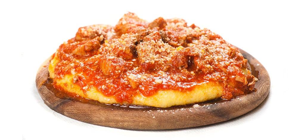 polenta, polenta con spuntature di maiale e salsicce, salsicce, ristoranti di roma, mangiare a roma, ristorante di roma, ristorante a roma, ristoranti a roma