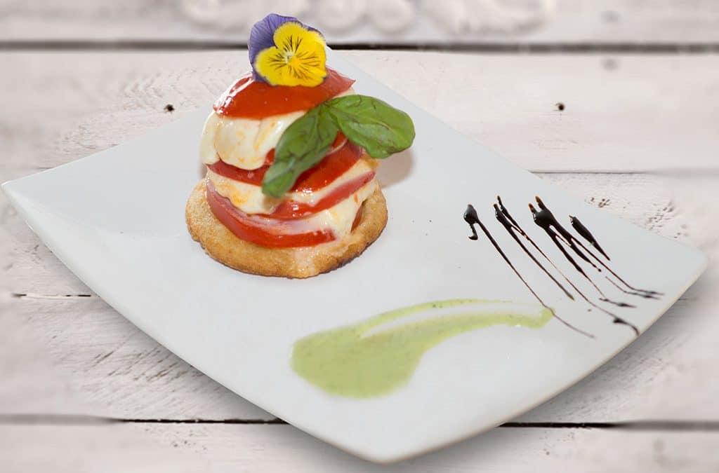 caprese, ristorante di roma, ristoranti di roma, mangiare a roma, antipasto, cucina napoletana