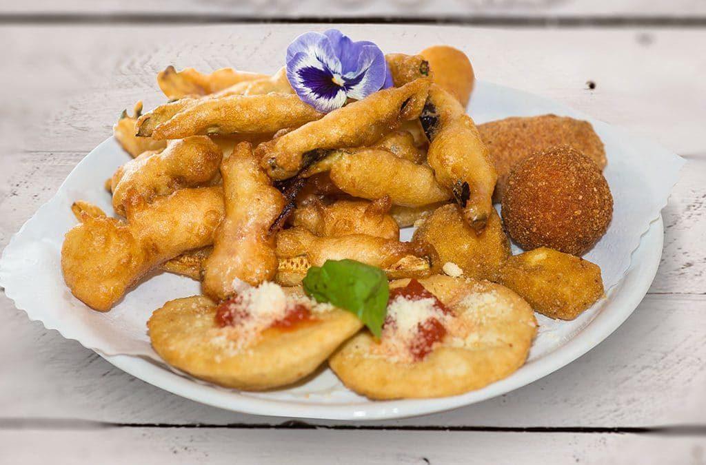 fritti misti, ristoranti di roma, ristoranti a Roma, ristorante di Roma, ristorante a Roma, mangiare a Roma, antipasto, antipasto all'italiana, cucina italiana, fritto, fritto misto