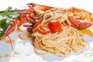 linguine all'astice, linguine all'astice, pasta, astice, primo piatto, ristorante di Roma, ristoranti di Roma, mangiare a Roma, roma