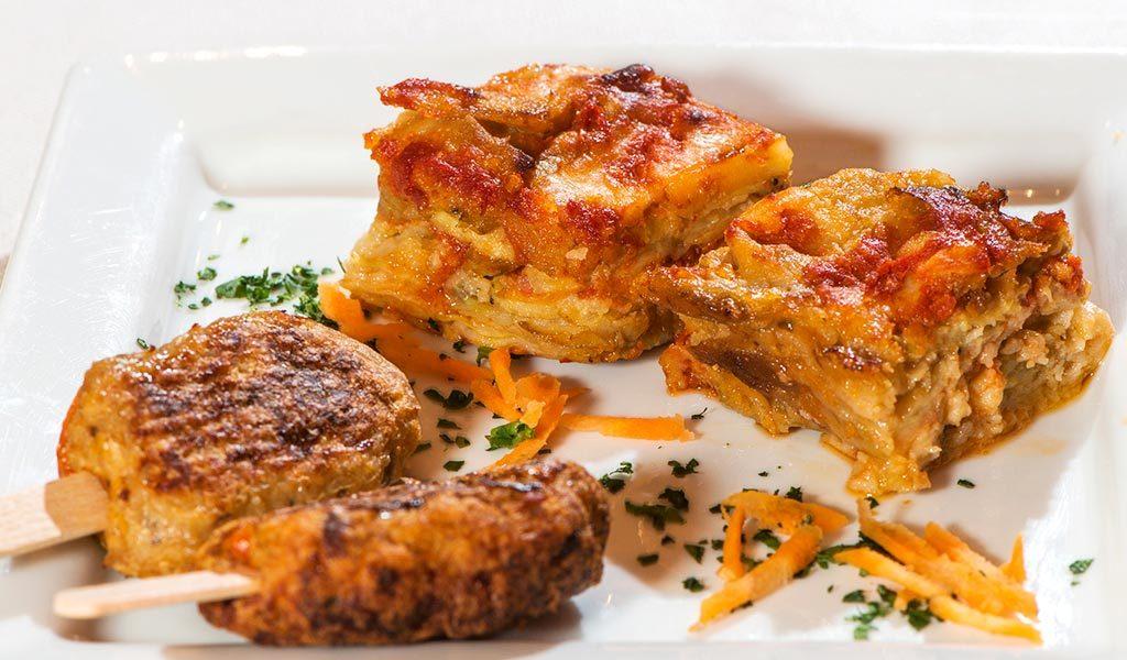 parmigiana di melanzane, ristorante di roma, ristoranti di roma, mangiare a roma, mangiare la parmigiana, ristorante a roma