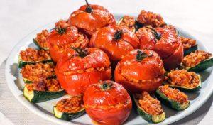 pomodori col riso, pomodori e zucchine al riso, pomodori ripieni, ristoranti di roma, mangiare a roma, ristoranti a roma, ristorante di roma, pomodori