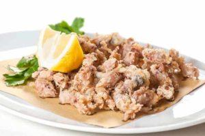 moscardini fritti, ristorante di roma, ristorante a roma, mangiare a roma, ristoranti di roma, ristoranti a roma, ristorante di pesce, antipasto, moscardini, antipasto di mare, cucina sarda, cucina marinara